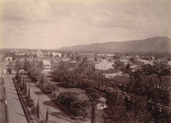View of Mysore from Jagan Mohan Palace.
